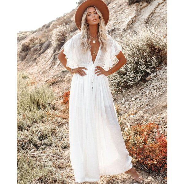 Robe De Plage Blanche | Soirée Blanche