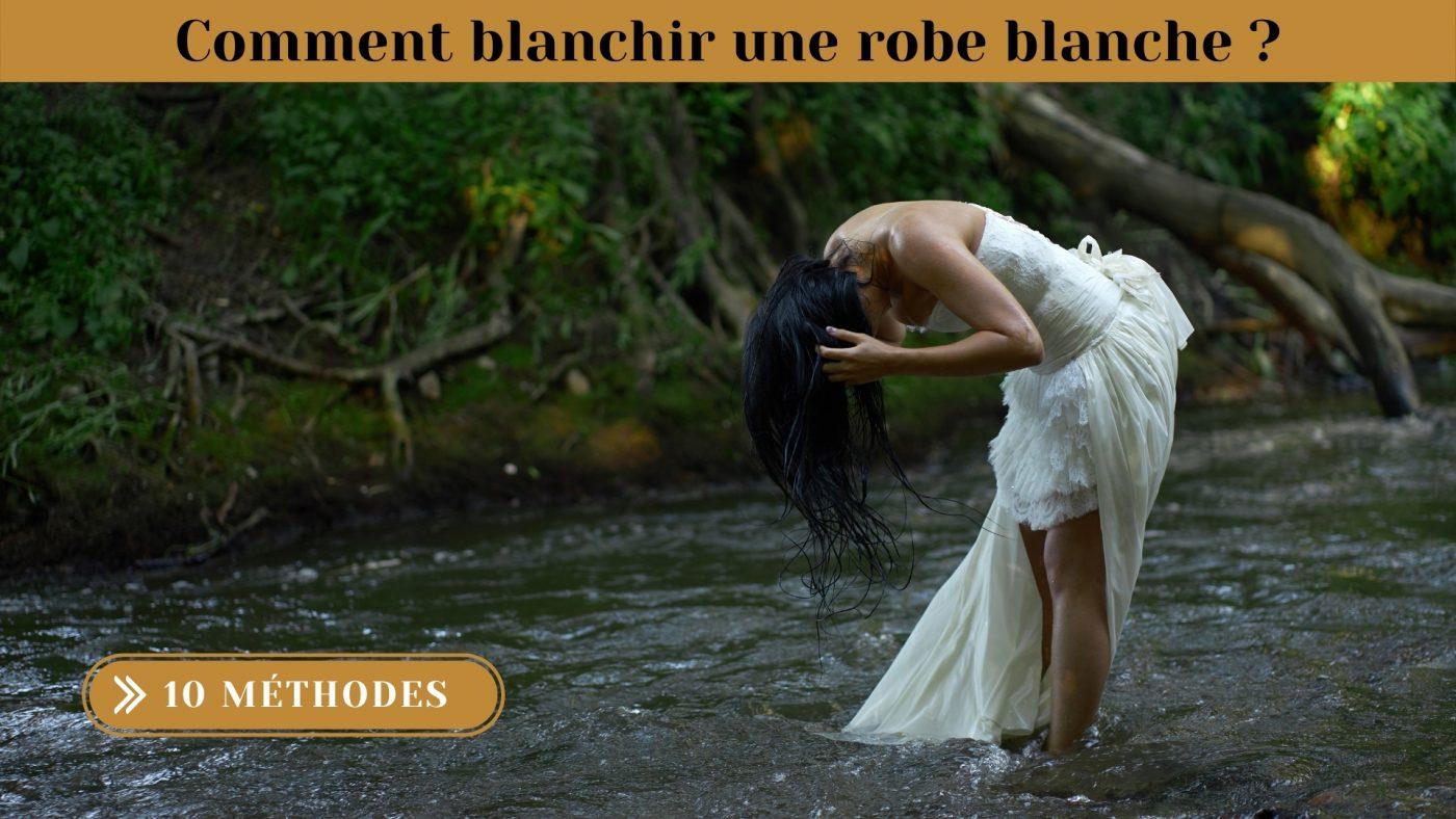 Comment blanchir une robe blanche ? 10 Méthodes 1   Soirée Blanche