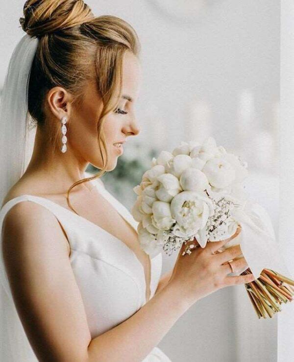 Princesse Robe De Mariée Blanche | Soirée Blanche