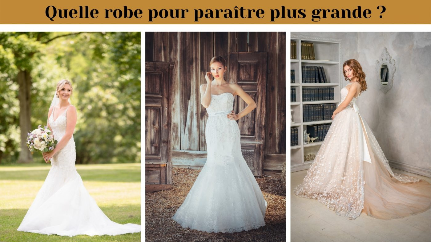 Quelle robe de mariée quand on est petite ? TOP 5 de nos robes préférées ! 1 | Soirée Blanche