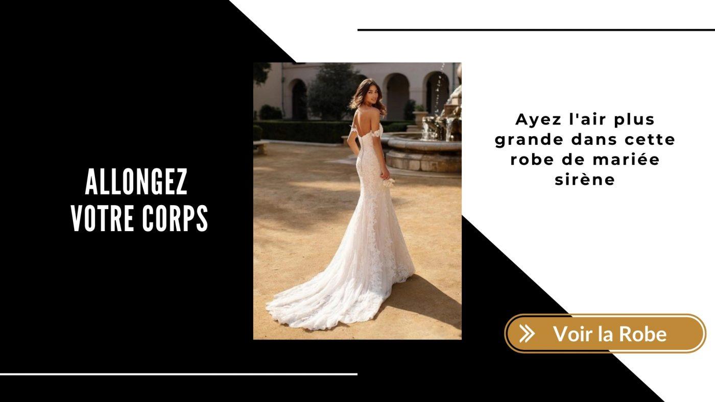 Quelle robe de mariée quand on est petite ? TOP 5 de nos robes préférées ! 4 | Soirée Blanche