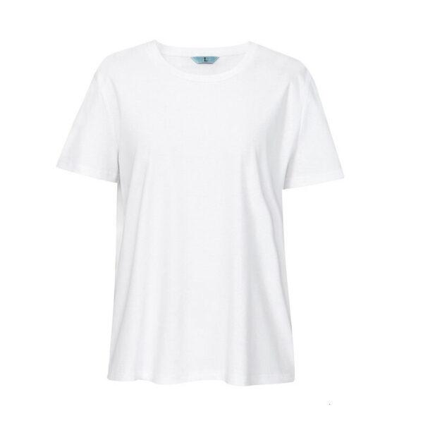 Tee Shirt Blanc Ras du Cou Femme | Soirée Blanche