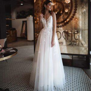 Robe De Mariée Fantaisie Blanche | Soirée Blanche