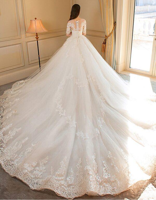 Robe De Mariée Luxe | Soirée Blanche