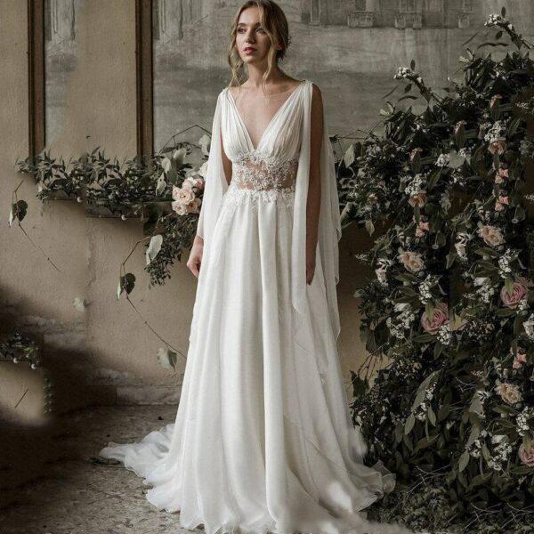 Robe De Mariée Grecque | Soirée Blanche