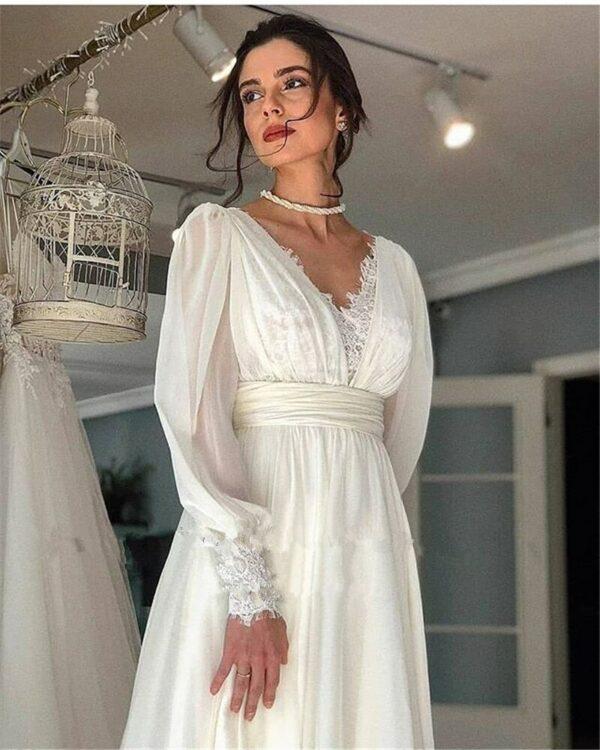 Robe De Mariée Année 20 Blanche | Soirée Blanche