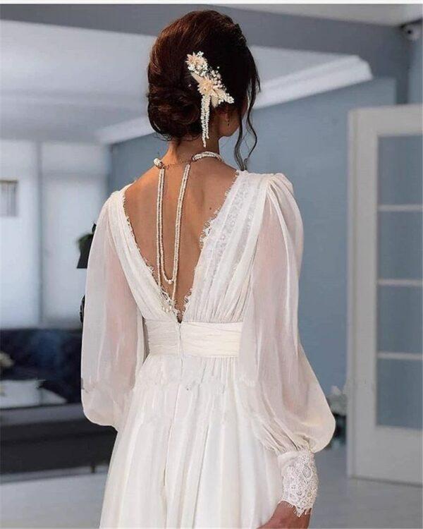 Robe De Mariée Année 20 | Soirée Blanche