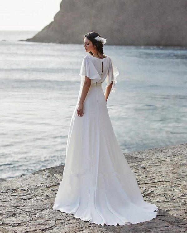 Robe De Mariée Sensuelle Blanche   Soirée Blanche