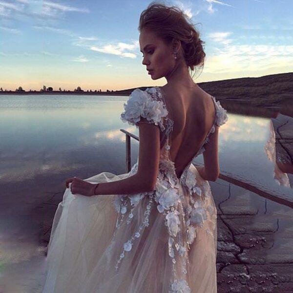 Robe De Mariée Tulle Blanche | Soirée Blanche
