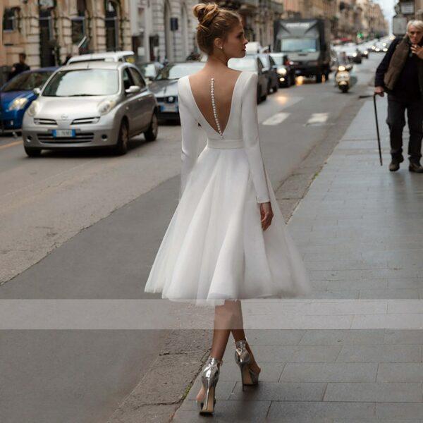 Robe De Mariée Année 60 Blanche | Soirée Blanche