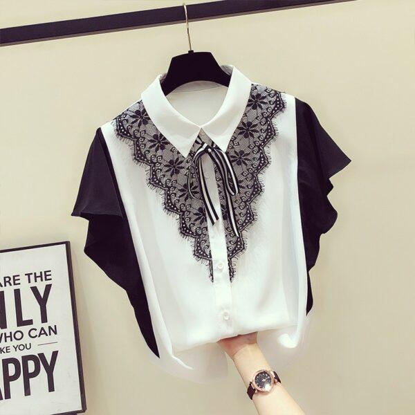 Tee Shirt Femme Noir et Blanc | Soirée Blanche