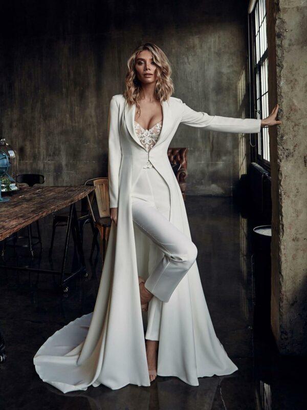 Combinaison Blanche Mariage | Soirée Blanche