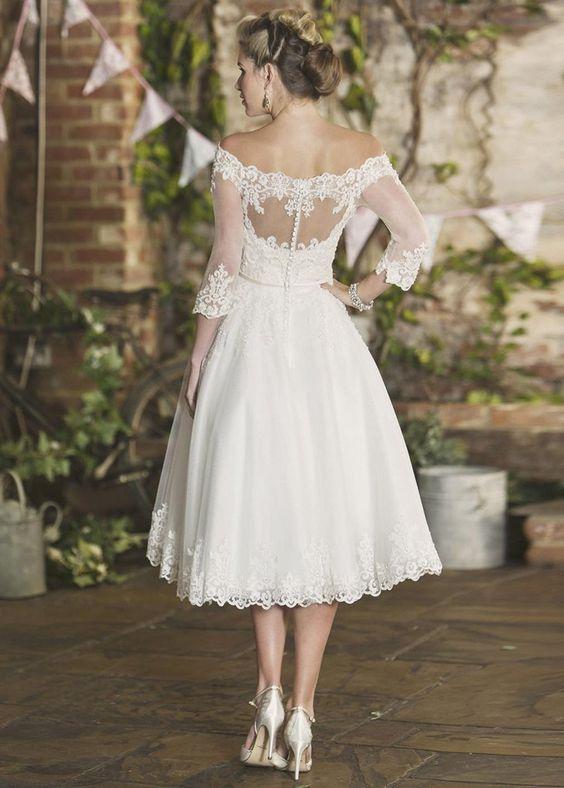 Robe De Mariée Pin Up Blanche | Soirée Blanche
