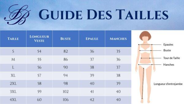 Tailleur Pantalon Femme Blanc - veste