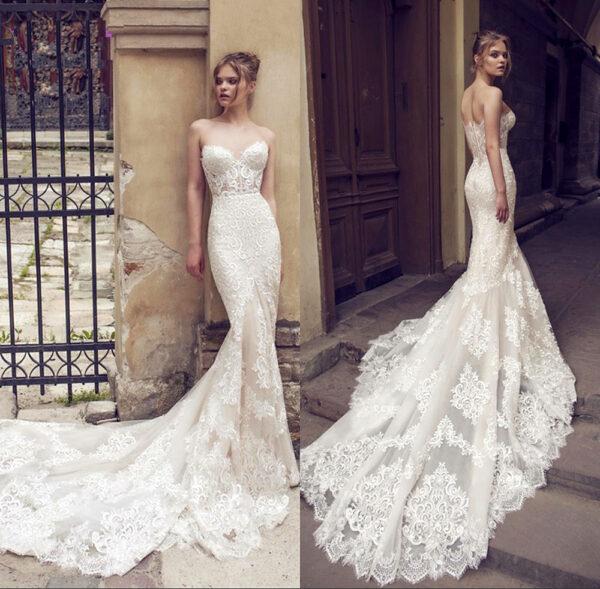 Robe Blanche de Mariée | Soirée Blanche