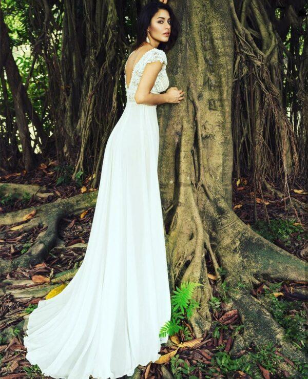 Robe De Mariée Année 50 | Soirée Blanche