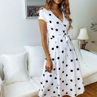 Robe Blanche Mi Longue | Soirée blanche