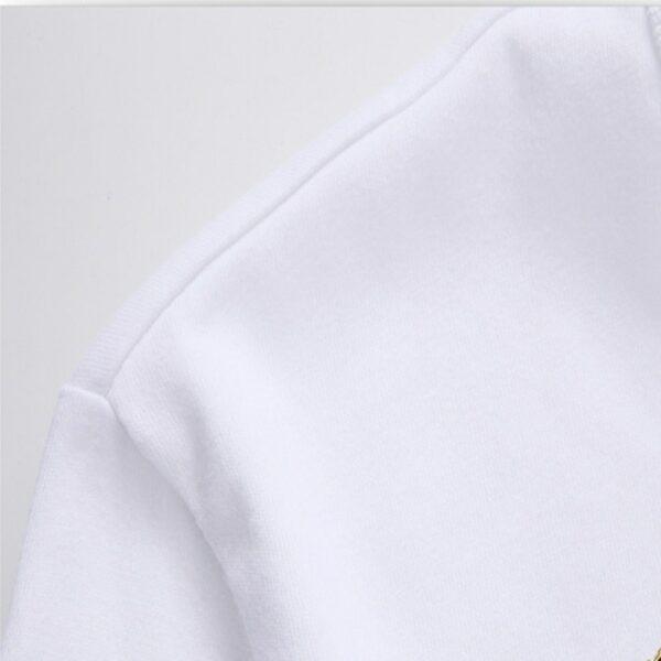 Tee Shirt Blanc Avec Ecriture | Soirée Blanche
