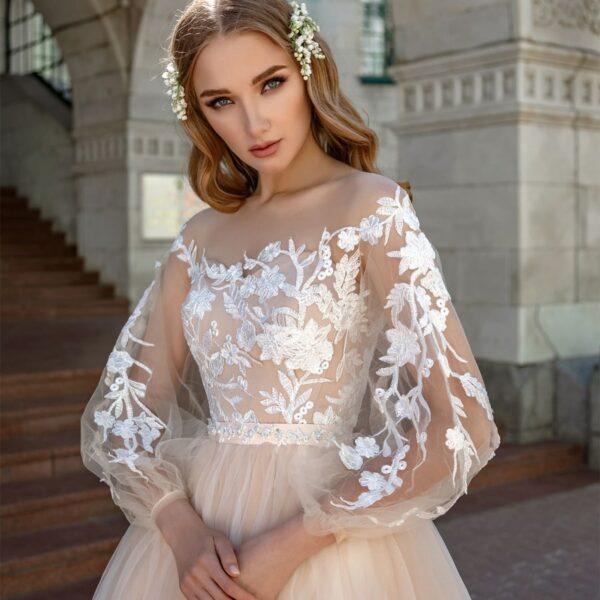 Robe De Mariée Princesse Bohème | Soirée Blanche