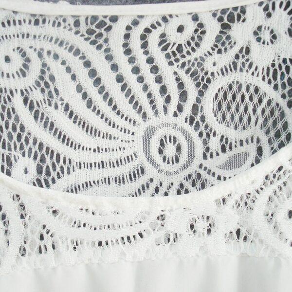 Robe Tunique Blanche | Soirée Blanche