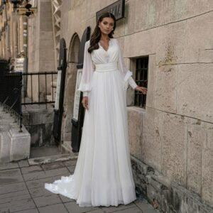 Robe De Mariée Année 30 Blanche | Soirée Blanche