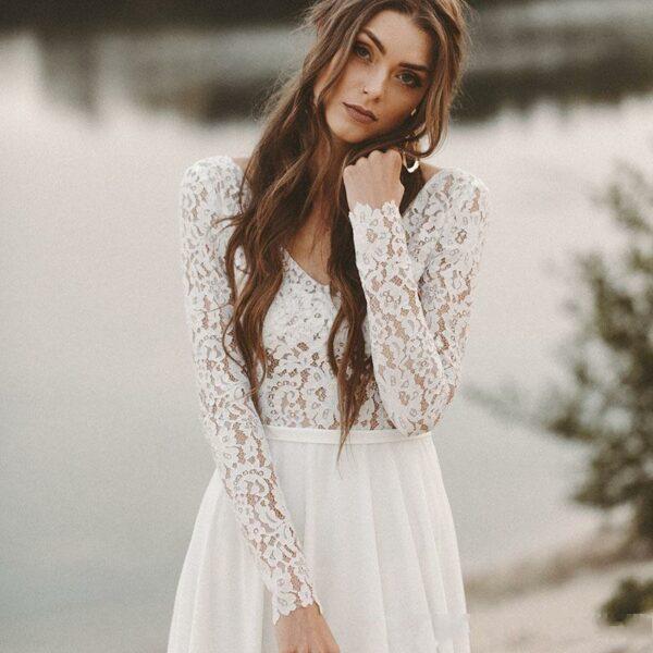 Robe De Mariée Romantique | Soirée blanche