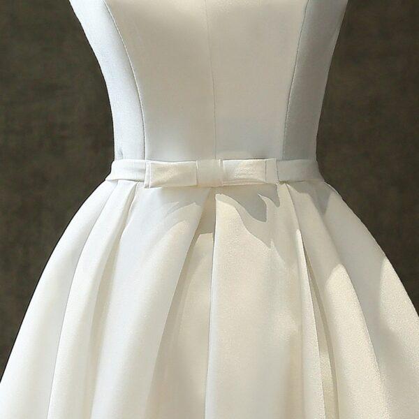Robe De Mariée Courte Chic | Soirée Blanche