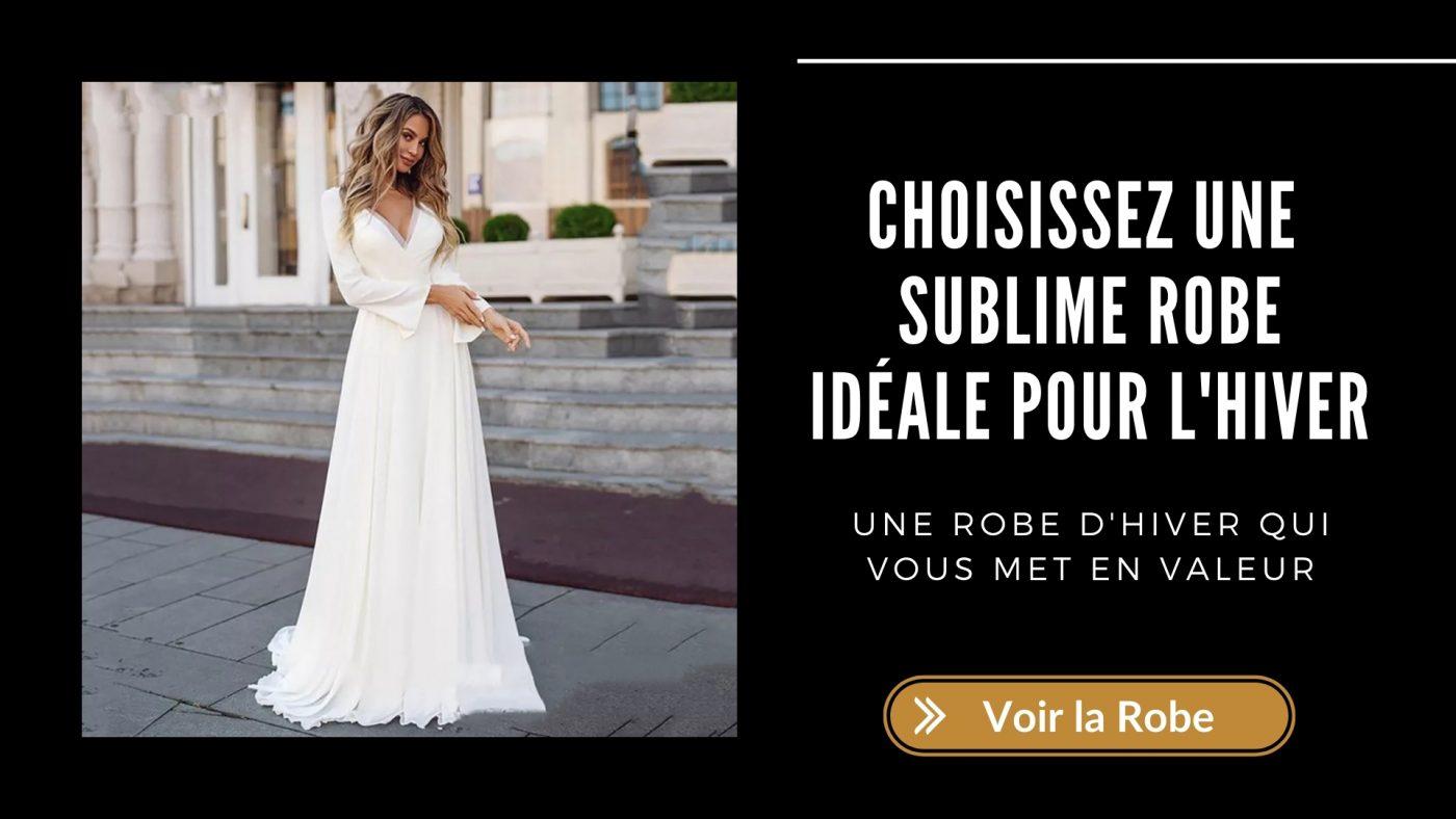 Comment trouver la robe de mariée idéale pour l'hiver ? 3 | Soirée Blanche