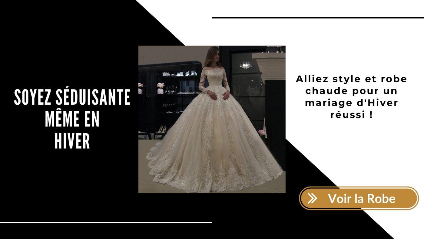 Comment trouver la robe de mariée idéale pour l'hiver ? 2 | Soirée Blanche