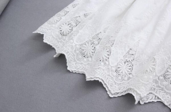 Jupe Blanche Broderie | Soirée blanche