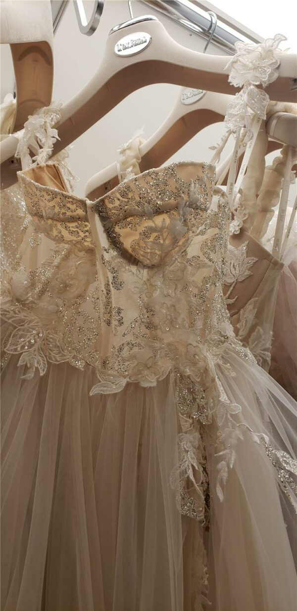 Robe De Mariée Bustier Blanc | Soirée Blanche