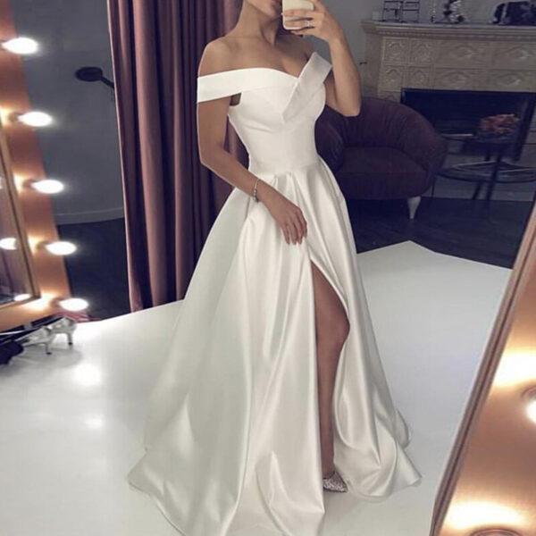 Robe Blanche Mariage Civil | Soirée Blanche