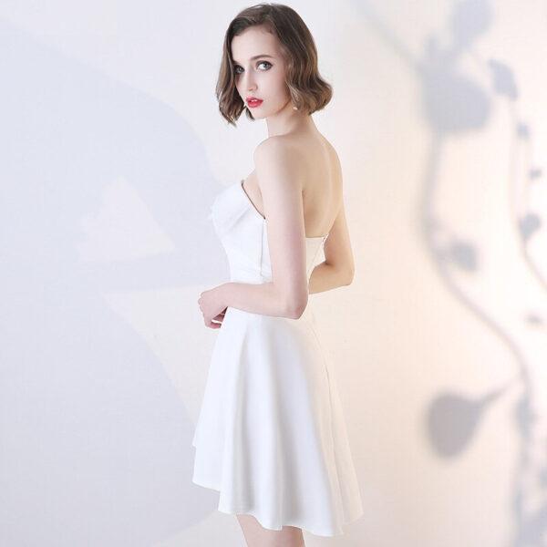 Robe Blanche Bustier | Soirée Blanche