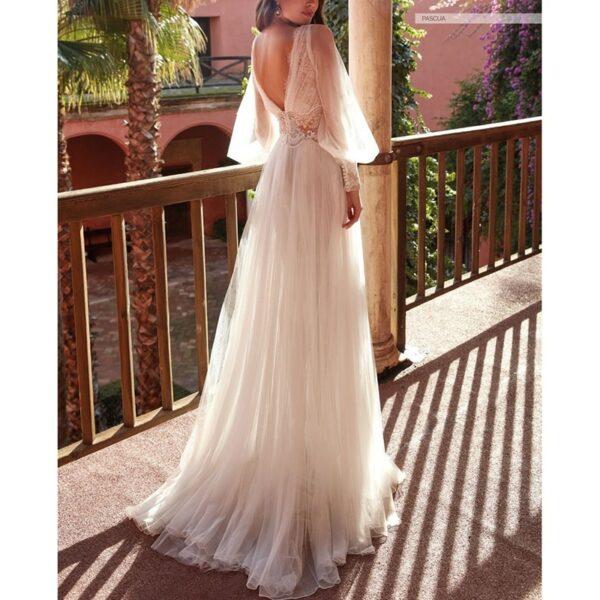 Robe De Mariée Déesse Grecque Blanche | Soirée Blanche