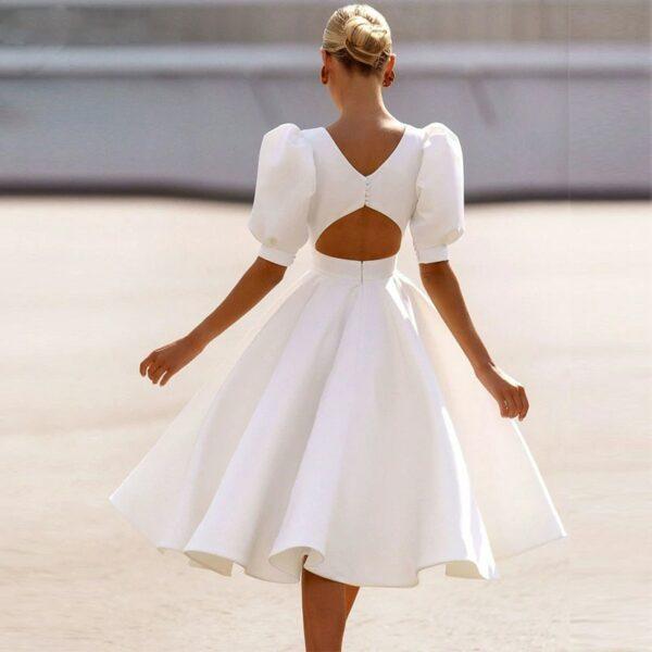 Robe De Mariée Civil | Soirée Blanche