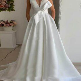 Robe de Mariage Blanche Longue   Soirée blanche