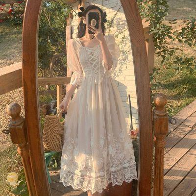 Robe Patineuse Blanche   Soirée Blanche