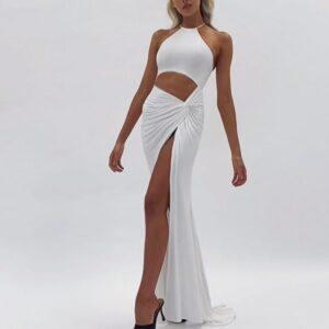 Robe De Soirée Blanche Sexy   Soirée Blanche