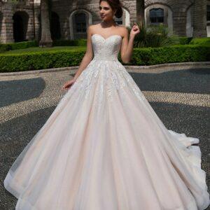 Robe De Mariée Princesse Simple Dos Nu Blanche   Soirée Blanche