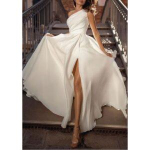 Robe Volantée Blanche | Soirée Blanche