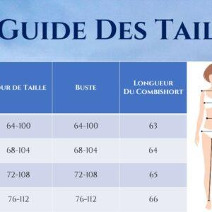 Combishort Blanc Dentelle | Soirée Blanche