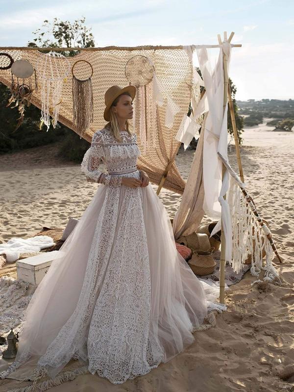 Robe De Mariée Princesse Bohème Blanche