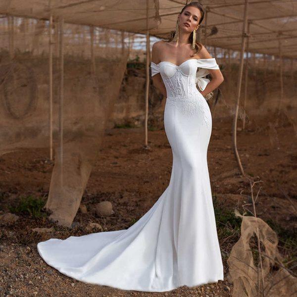 Le top 3 des robes de mariée intemporelle! 2 | Soirée Blanche