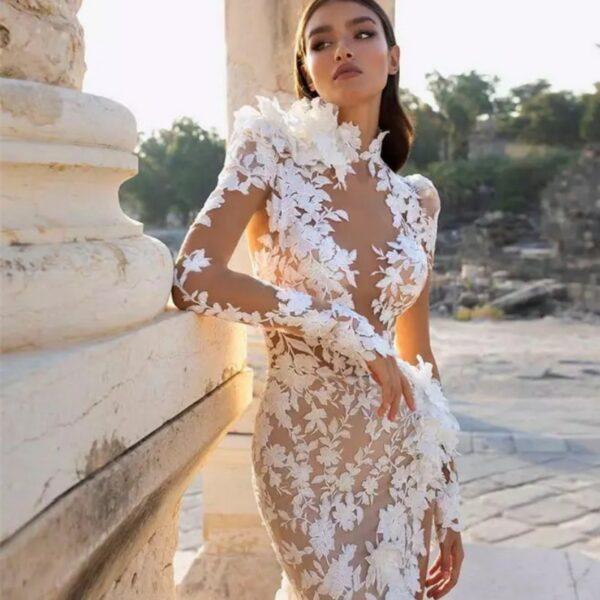 Robe De Mariée Originale Sexy | Soirée Blanche