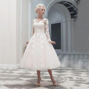 Robe De Mariée Rockabilly | Soirée Blanche