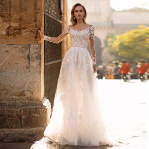 Robe De Mariée Glamour Chic | Soirée Blanche
