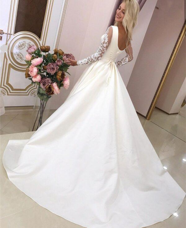 Robe De Mariée Hiver | Soirée Blanche