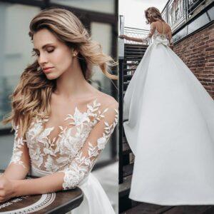 Robe De Mariée Princesse Blanche   Soirée Blanche
