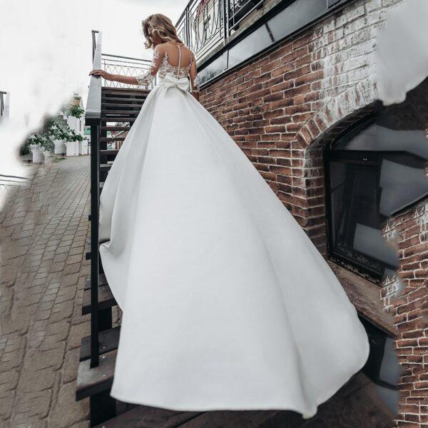 Robe De Mariée Princesse Blanche | Soirée Blanche