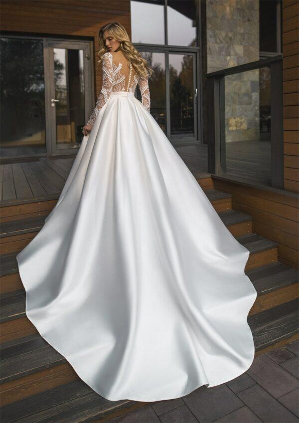 Robe De Mariée Princesse Fleurie Blanche | Soirée Blanche